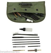 10pc Universal .22 cal .223 556 Rifle Gun Pistol Cleaning Kit Set Nylon Brush