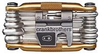 Crank Brothers Multi Bicycle Tool (19-Function, Gold)