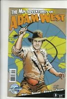 The Misadventures Of Adam West #3 Comic Book Bluewater Very Fine / Near Mint