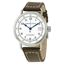 Hamilton Navy Pioneer Automatic Silver Dail Ladies Watch H78215553