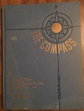 "1952 Vintage US Naval Training Center Book ""The Compass"" Bainbridge MD"