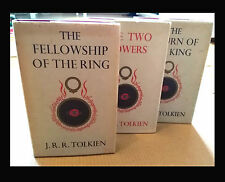 LORD OF THE RINGS - J.R.R. Tolkien - UK 1st Editions (1954-55) FIRST 5,4,2 Imp.