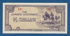 JAPON // JAPAN -- OCCUPATION OCEANIA -- 1/2 SHILLING ND (1942) -- aUNC - PICK 1c