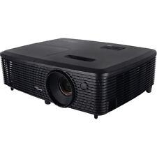 Optoma Full 3D SVGA 3500 Lumen DLP Projector w/ Superior Lamp Life -Factory Refu
