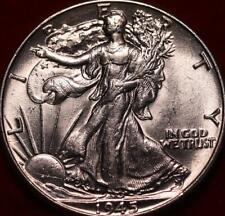 Uncirculated 1945 Philadelphia Mint Silver Walking Liberty Half