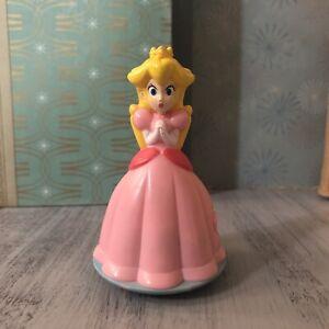 Princess Peach Nintendo Wii 2008 Burger King Toy