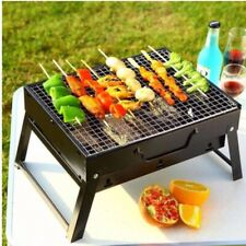 Portable Folding BBQ Grill Outdoor Picnic Camping Grilling Cooking