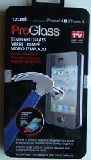 TZUMI ProGlass Tempered Glass Screen Protection for Apple iPhone 4/4S NEW SEALED