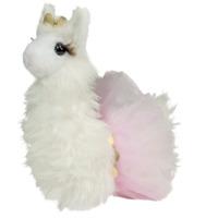 JUNEBUG the Plush PRINCESS LLAMA Stuffed Animal - by Douglas Cuddle Toys - #1533