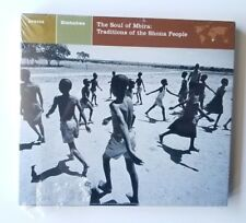 Nonesuch Explorer Soul of Mbira Traditions Shona People CD Zimbabwe 79704-2 new