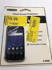 WriteRight Fitted Screen Protectors For AT&T Pantech Burst 3-Pack