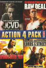 Action 4 Pack - Volume 1 (Jcvd / Lords Of The Street / Among Dead Men / Ra (Dvd)