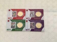 Vatican 4 Coincards Pièce de 50 Cent. plus timbre 2017
