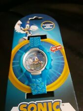 Sonic The Hedgehog Wrist Watch Light Up Flashing LED Kids Watch Birthday Gift