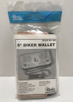 "6"" BIKER WALLET KIT - TANDY LEATHER #4028 NEW"