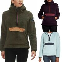 Womens The North Face Jacket Campshire Pullover Sherpa Fleece Soft Hoodie M L