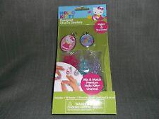 Hello Kitty-Jewelry craft-makes 3 bracelets-Hello Kitty charms-Sanrio brand-Nice