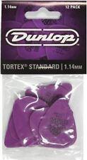 Jim Dunlop Tortex Standard Guitar Picks 12 Pack - 1.14mm