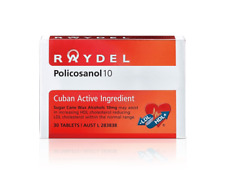 RAYDEL Policosanol 10 - FOR YOUR HEALTHY CHOLESTEROL MANAGEMENT - 30 tablets