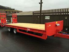 Agriculture & Farming Trailers with Beaver Tail 2 Axles