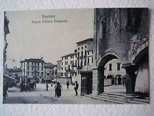 Cartoline Veneto Bassano del Grappa Vicenza Piazza Vittorio Emanuele anni '20