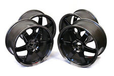 VOLK RACING TE37SL FORGED WHEELS 15x8.0 +32 FOR MIATA CIVIC INTEGRA GLOSS BLACK
