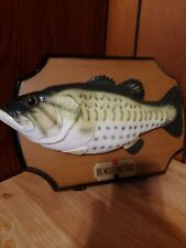 Big Mouth Billy Bass 1999 Singing Fish Take Me To The River Don't Worry Be Happy
