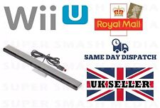 SENSOR BAR FOR NINTENDO WII U WITH STAND WIRED INFRARED RECEIVER - NEW
