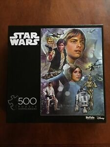 Star Wars Celebration A New Hope Limited Edition 500 Piece Puzzle w/ Diagram New