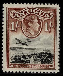 ANTIGUA GVI SG105, 1s black & brown, NH MINT.