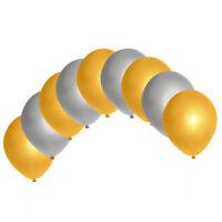 "10"" Metallic/Pearl Latex Balloons Mix Colour baloons Graduation Wedding Party"