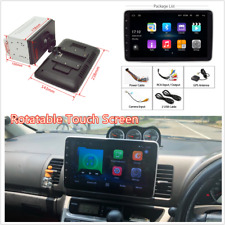 9in 2DIN Car FM Stereo Radio Rotatable Touch Screen Quad Core Bluetooth GPS Wifi