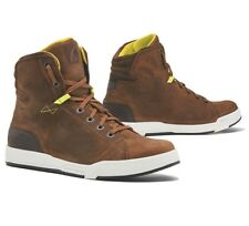 Scarpe Stivali Boots Moto impermeabili forma Swift Dry Brown Marrone Pelle Tg 45