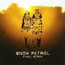 Snow Patrol Final Straw uk Bonus Tracks