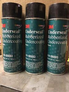 3M 8883 Underseal™ Rubberized Undercoating 08883, 1 lb 3.7 oz Net Wt. 3 Pack
