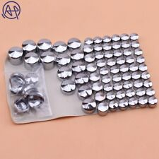 Motorbike Chrome Bolt Topper Caps Screw Covers for Harley Twin Cam Road King/FLH