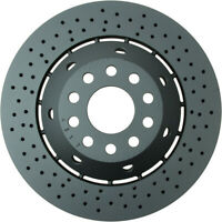 One New Zimmermann Disc Brake Rotor Front Right 100334070 for Audi RS6