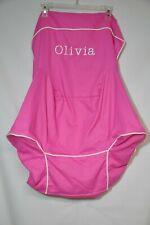 "Pottery Barn Kids Anywhere Beanbag slipcover pink ""Olivia""  New"