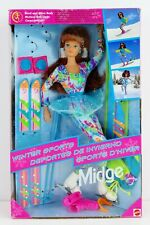 Barbie Winter Sports Midge Doll Foreign Issue 1994 Mattel No. 13514 NRFB