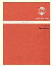 Collins 32S-3 Transmitter Manual Reprint