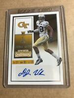 D.J. DJ WHITE 2016 PANINI CONTENDERS COLLEGE TICKET ROOKIE AUTO