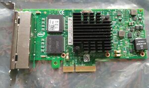 Intel Quad Port Gigabit Ethernet Adapter Intel i350-T4 PCIe, 4x RJ45, Server NIC