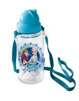 Disney Frozen Feldflasche mit Schultergurt 670ml Trinkflasche Canteen Flasche