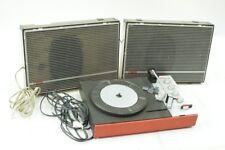 alter Unitra Fonica Plattenspieler DDR mit Lautsprecher old vintage