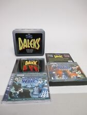 """Doctor Who """"DALEKS: The Power of, Evil, My Life As A Dalek"""" 6-AUDIO CD Tin Set"""