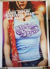 FESTIVAL EXPRESS Original 27x40 Movie Theater Poster Janis Joplin Grateful Dead