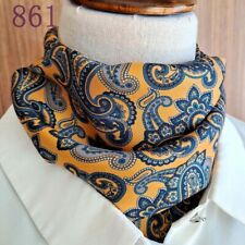 Sale New Mens Women Pure Genuine Mulberry Silk Satin Square Scarves Gift 65cm 61