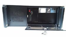 4U Rackmount Chassis Black 1.0mm thick Server Chassis