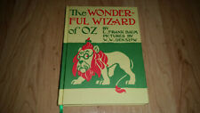 The Wonderful Wizard Of Oz by Frank L Baum FACSIMILE First Edition 1987