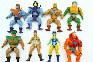 Masters of the Universe Commemorative MOTU Figure Lot Skeletor He-Man Faker